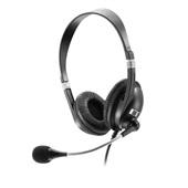 Headset Acoustic com Microfone P2 Preto PH041 1 UN Multilaser