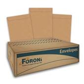 Envelope Saco Kraft Natural 176x250mm CX 100 UN Foroni