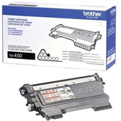 Toner Preto TN450 1 UN Brother