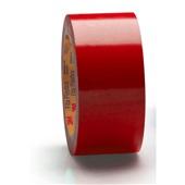Fita para Demarcação de Solo 50mm x 30m Vermelho 1 UN 3M