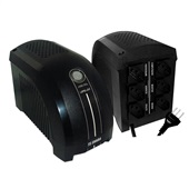 Nobreak UPS Mini 500VA Monovolt 115V Preto 331 1 UN TS Shara