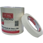Fita Crepe 19mm x 50m 6 UN Fit Pel