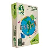 Papel Sulfite Reciclado Eco Millenium A4 75g PT 500 FL Jandaia