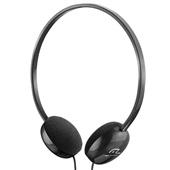 Headphone Básico com Haste Ajustável Preto PH063 1 UN Multilaser