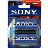 Pilha Alcalina Grande D Xtra Power 2 UN Sony