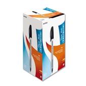 Caneta Esferográfica Kilometrica 100 Preta 1.0mm CX 50 UN Paper Mate