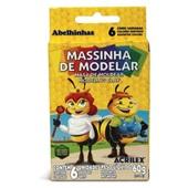 Massa de Modelar Abelinhas 60g 6 UN Acrilex