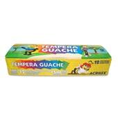 Tinta Guache Abelinhas 12 Cores 15ml Acrilex