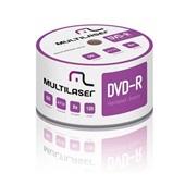 DVD-R Gravável 4.7GB, 120min Printable Multilaser