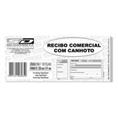 Bloco Recibo Comercial com Canhoto 100 FL 6065-7 São Domingos