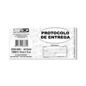 Bloco Protocolo Entrega 100 FL 6869-2 São Domingos