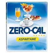Adoçante em Pó Aspartame Sachês de 0,8g CX 50 UN Zero Cal