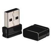 Pen Drive Nano 16GB USB 2.0 Preto PD054 1 UN Multilaser