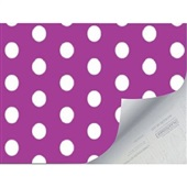Plástico Autoadesivo Estampa Venita Roxo 45cm x 2m 1 UN Plastcover