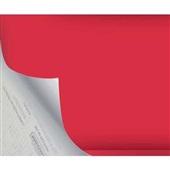 Plástico Autoadesivo Estampa Vermelho Opaco 45cm x 2m 1 UN Plastcover