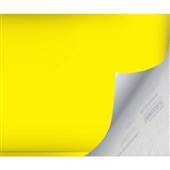 Plástico Autoadesivo Estampa Amarelo Opaco 45cm x 2m 1 UN Plastcover