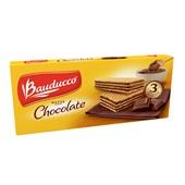 Biscoito Wafer Chocolate 140g PT 1 UN Bauducco