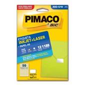 Etiqueta Adesiva InkJet e Laser A5 12x19mm Branco A5Q-1219 CX 1188 UN Pimaco