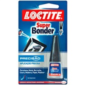 Cola Super Bonder Precisão Loctite 5g 1 UN Henkel