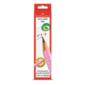 Lápis Preto B N.2 Eco Grip Triangular Rosa CX 12 UN Faber Castell