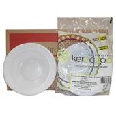 Prato Descartável Branco Sobremesa 150mm PT 10 UN Kerocopo