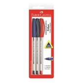 Caneta Esferográfica Trilux 3 Cores 1.0mm 3 UN Faber Castell