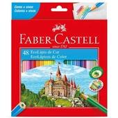 Lápis de Cor Sextavado EcoLápis 48 Cores Faber Castell