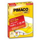 Etiqueta Adesiva Inkjet e Laser CD DVD Carta 115mm Branco CD100B CX 20