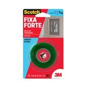 Fita Dupla Face Scotch Transparente 25mm x 2m 1 UN 3M