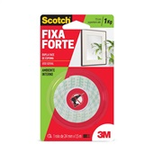 Fita Dupla Face Scotch Espuma 24mm x 1,5m 1 UN 3M