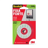 Fita Dupla Face Scotch Uso Interno 12mm x 1,5m 1 UN 3M