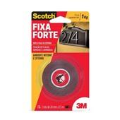 Fita Dupla Face Scotch Espuma 24mm x 1,5m 1 UN 3M