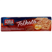 Biscoito Cream Cracker Folhata Manteiga 200g PT 1 UN Adria