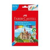 Lápis de Cor Sextavado EcoLápis 36 Cores Faber Castell