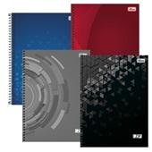 Caderno Universitário Capa Dura 96 FL Zip Cores Sortidas 1 UN Tilibra