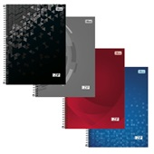 Caderno Universitário Capa Dura 200 Folhas Zip Cores Sortidas 1 UN Tilibra