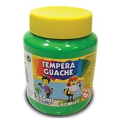 Tinta Guache Verde Folha 250ml Acrilex