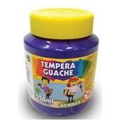 Tinta Guache Violeta 250ml Acrilex