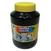 Tinta Guache Preta 500ml Acrilex