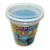 Massa de Modelar Soft Azul 500g 1 UN Acrilex