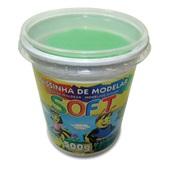 Massa de Modelar Soft Verde 500g 1 UN Acrilex