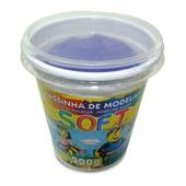 Massa de Modelar Soft Violeta 500g 1 UN Acrilex