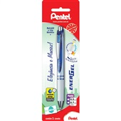 Caneta Gel Retrátil Energel Azul 0.7mm 1 UN Pentel
