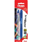 Caneta Gel Retrátil Energel X Azul 0.7mm 1 UN Pentel