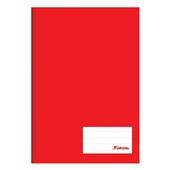 Caderno Brochurão Capa Dura Universitário 96 FL Vermelho 1 UN Foroni