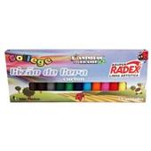 Gizão de Cera College Curton 15 Cores Radex