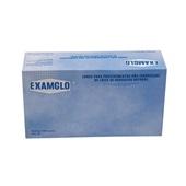 Luva de Látex para Procedimentos sem Pó M Examglo C.A 16236 CX 100 UN Sanro