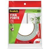 Fita Dupla Face Scotch Espuma Fixa Forte 19mm x 10m 1 UN 3M