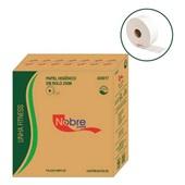 Papel Higiênico Folha Simples Rolão 250m Celulose CX 8 RL Nobre Paper