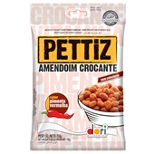 Amendoim Pettiz Pimenta Vermelha 150g PT 1 UN Dori